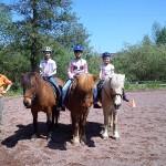 Ulrike mit drei glücklichen Mädchen