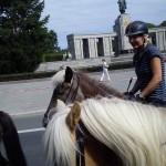 ...vorbei am sowjetischen Denkmal