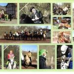 Unsere verkleideten Reiter beim Faschingsritt 2011