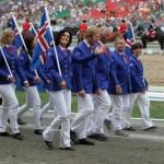 Die Isländische Equipe